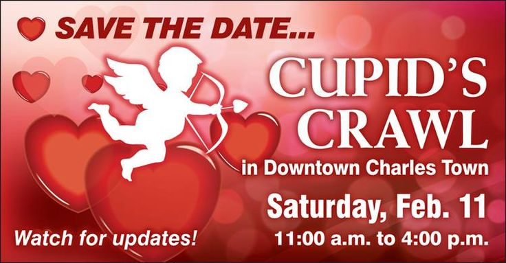 Cuprid's Crawl is a shopping fest for everyone with the prize of a lovely date night! Located Downtown Charles Town Feb. 11