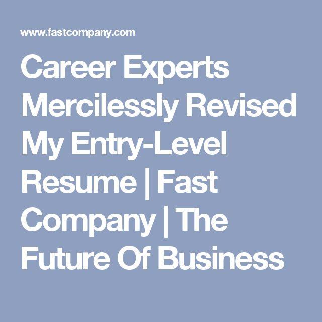 25+ unique Entry level resume ideas on Pinterest Accounting - resume entry level