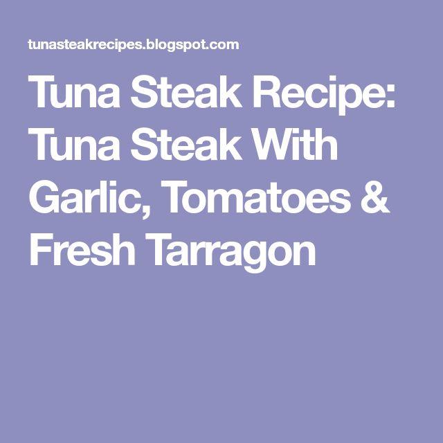 how to cook fresh tuna steak