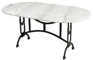 http://ift.tt/1Rs0rzg Bistrotisch Marmor Gahalia Gartentisch Tisch weiß gusseisener Fuss mit Marmorplatte 160x90x71cm @@biiton$$