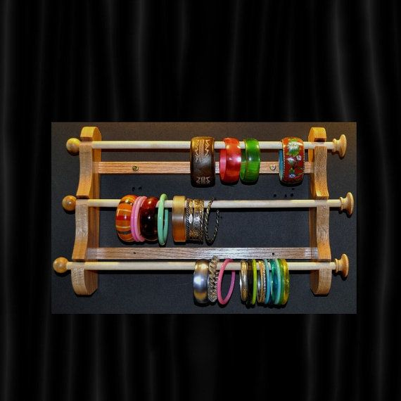 Diy Modern Hanging Jewelry Organizer: Best 25+ Bracelet Holders Ideas On Pinterest