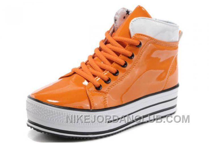http://www.nikejordanclub.com/orange-all-star-platform-converse-shiny-leather-shoes-discount-nkc7j8z.html ORANGE ALL STAR PLATFORM CONVERSE SHINY LEATHER SHOES DISCOUNT NKC7J8Z Only $62.60 , Free Shipping!