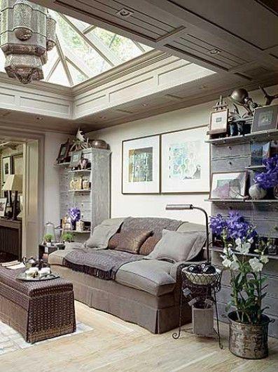 Sofa Set Between Built-Ins ➤ http://CARLAASTON.com/designed/sofa-between-built-ins