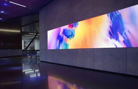 Digital Art Installation for Dolby Laboratories