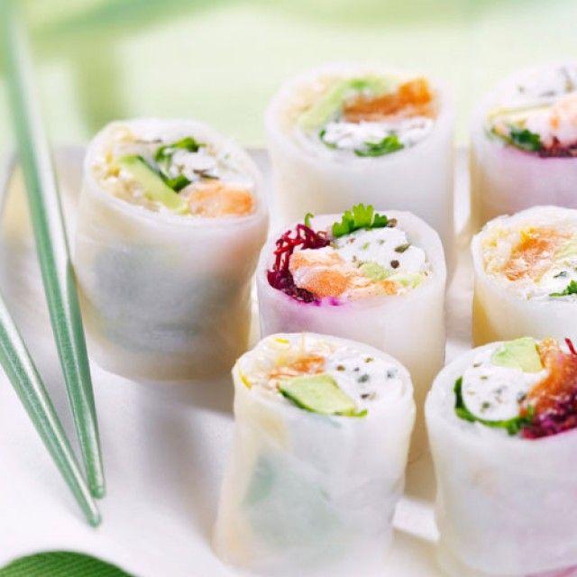 Ils mêlent l'utile à l'agréable : gourmandise, fraîcheur et régime. On craque définitivement pour ces rolls light qui ne nous laissent pas sur notre faim !