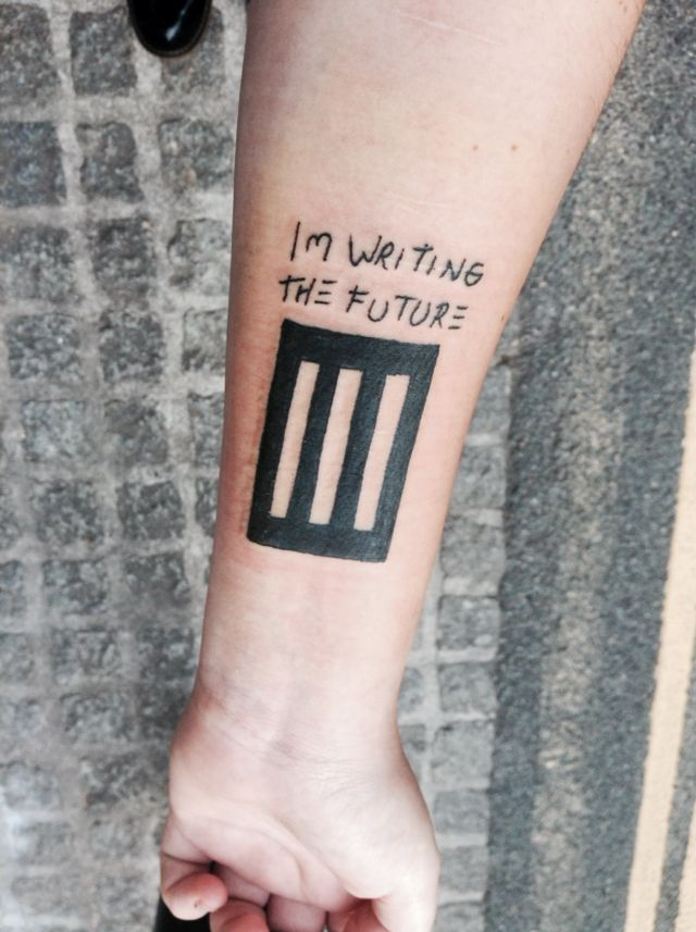 paramore tattoo tattoos pinterest best paramore tattoo paramore and tattoo ideas. Black Bedroom Furniture Sets. Home Design Ideas