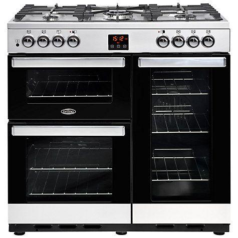 Buy Belling Cookcentre 90DFT Dual Fuel Range Cooker Online at johnlewis.com