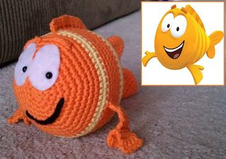 Ravelry: Sarah-Bean's Mr. Grouper (Bubble Guppies)