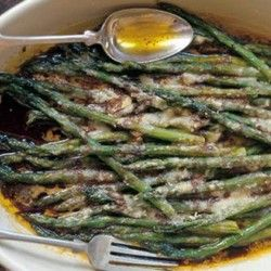 Baked Asparagus with Parmigiano-Reggiano Recipe