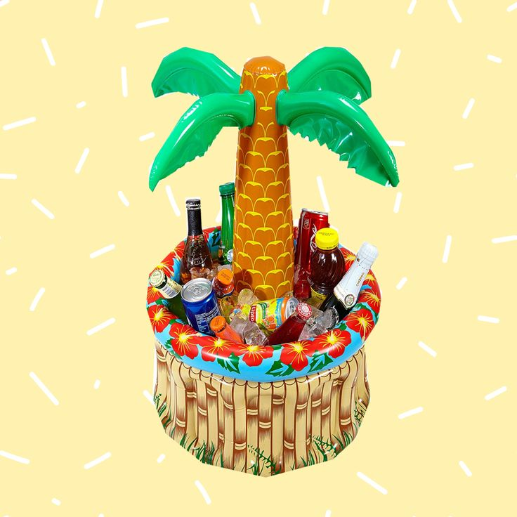 Aufblasbare Palme für Drinks