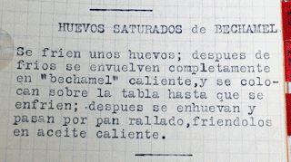 HUEVOS SATURADOS DE BECHAMEL. Reto 'Tía Alia'
