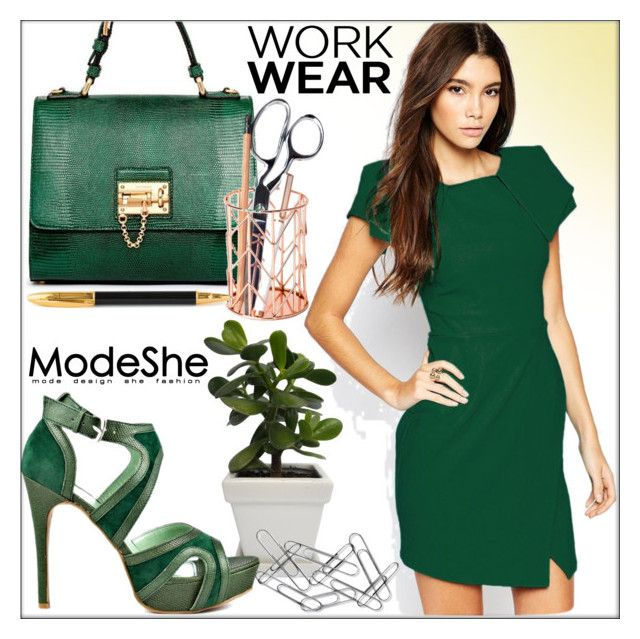 ModeShe #56- Office Chic! by whirlypath on Polyvore
