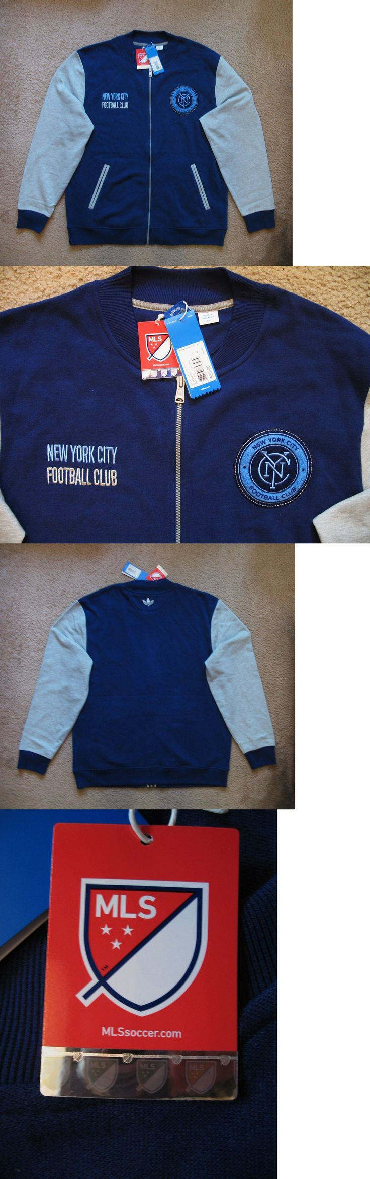Soccer-MLS 2888: Adidas Originals New York City Fc Fz Jacket Xl New Tags Nwt $90 -> BUY IT NOW ONLY: $49.99 on eBay!
