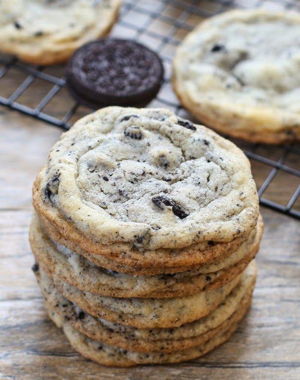 Big Cookies and Cream Cookies   Kirbie's Cravings   A San Diego food blog