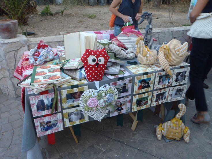 primo mercatino a bari dalla mia amica paola
