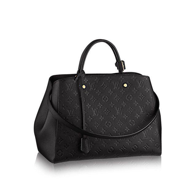 Montaigne GM - Monogram Empreinte - Handbags   LOUIS VUITTON
