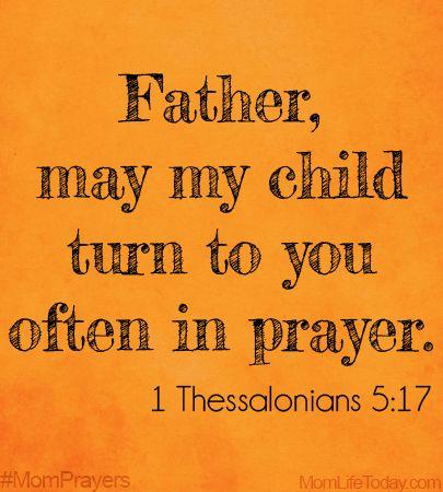 Mom Prayers for May – Prayer