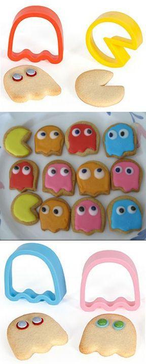 Pac-Man Cookie Cutter Set ♥