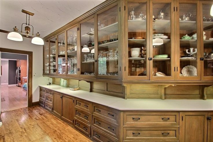 Incredible Butler S Pantry In This 1910 Home In Summit Wi