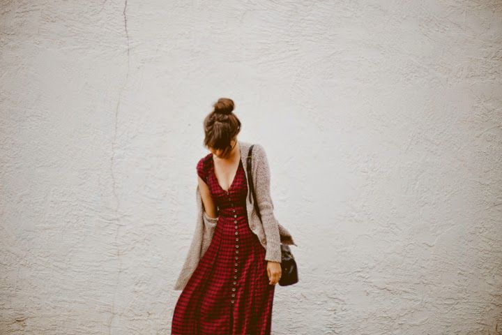dress: urban outfitters // shoes + purse: c/o urban outfitters // sweater: free people Behold!...