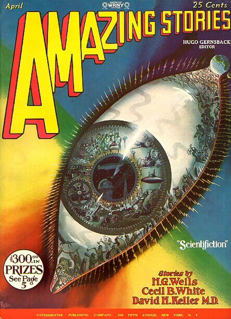 1928 ... by x-ray delta one, via Flickr The term 'Scientifiction' predates 'Science Fiction' by decades! I say bring it back, if it ain't broke why did they fix it?