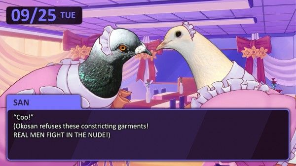 Independent developer Mediatronic – creators of Amateur Surgeon and Foul Play – and publisher Devolver Digital are coming together to bring a remake of Hato Moa's visual novel turned dating sim, Hatoful Boyfriend, to PC and Mac this Summer.
