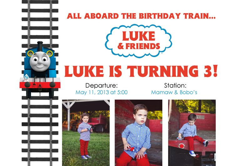 Thomas the Train 3rd birthday party – Augusta, Ga photographer