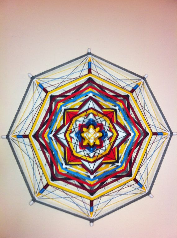"Please visit my another store with mandalas ""Home Decor by RusaLena"" https://www.etsy.com/shop/HomeDecorRusalena  To order Art Mandala  For Luck Money yarn от HomeDecorRusalena, $80.00"