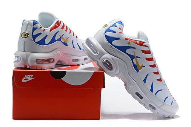 Nike Air Max Plus Tn France Kylian Mbappe Cup Blue Gold White Red Mens Womens Running Shoes Nikedropshipping C Nike Air Max Nike Air Max Tn Nike Air Max Plus