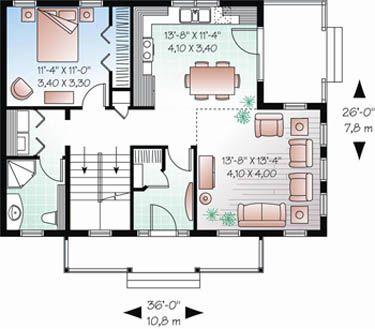 Haus bauen amerikanischer stil  67 besten Haus Bilder auf Pinterest | Haus grundrisse, Stadtvilla ...
