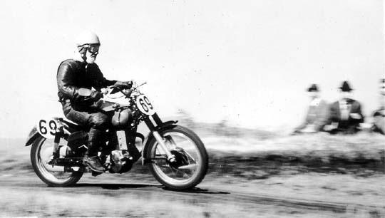 55年浅間250ccクラスの谷口尚己さん