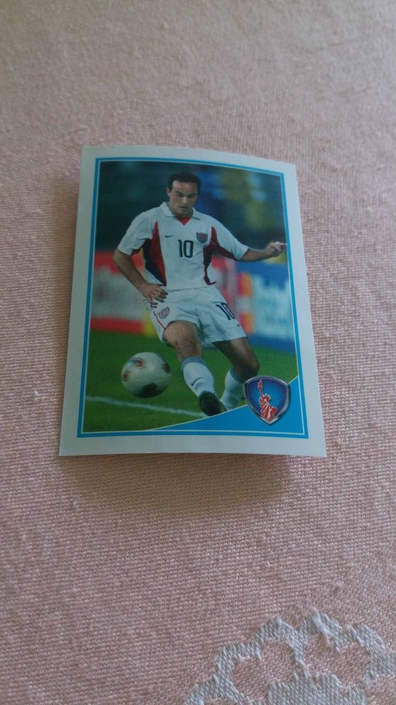 Landon Donovan USA Los Angeles Galaxy #59 WORLD CUP Football Fan 2010 Photo Luxo #LosAngelesGalaxy
