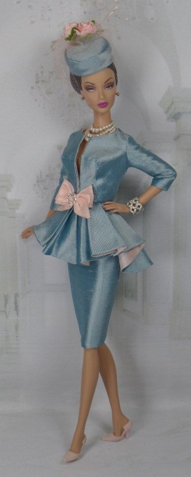 Courtly Blue for Silkstone Barbie and Victoire by MatisseFashions