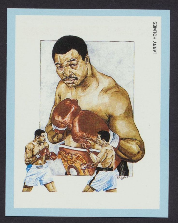 Larry Holmes Boxing Champions 1991 card #16