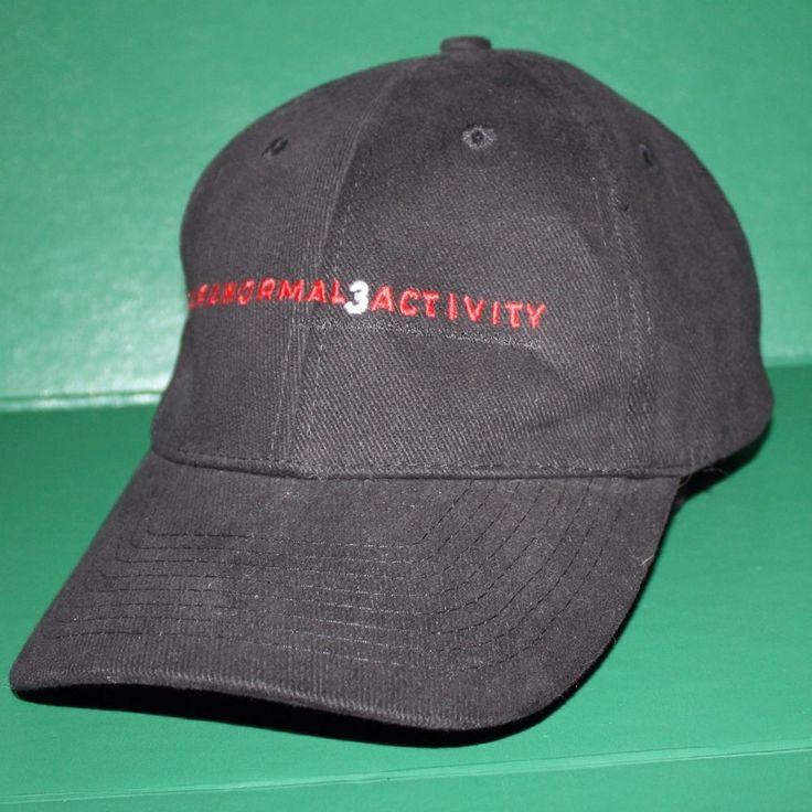 Paranormal Activity 3 Movie Promotional Horror Cap Hat Shirt Crew Cast Member