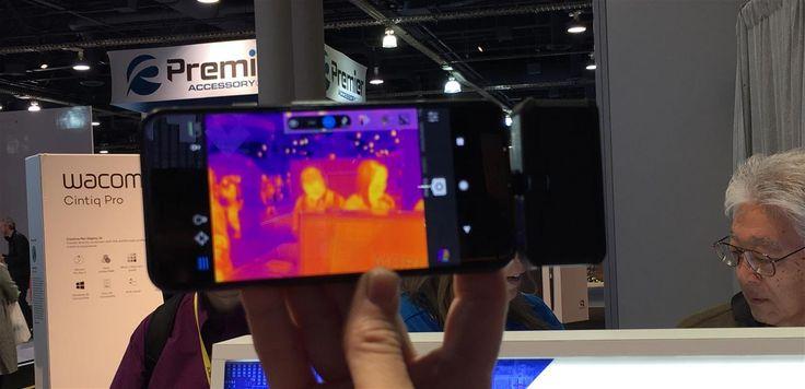 Flir One : caméra thermique USB Type-C ou Lightning à 199,99 $, une version Pro arrive