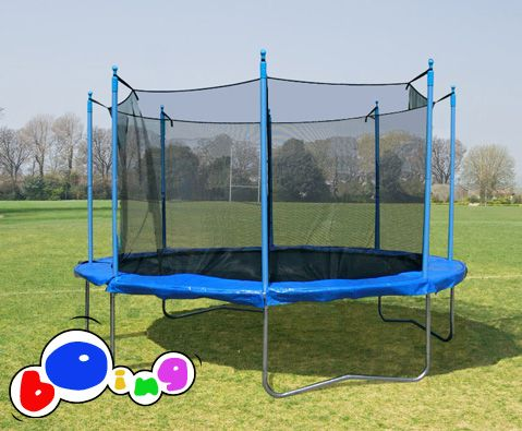 $305 Boing 10ft (3.05m) internal net trampoline package. free delivery
