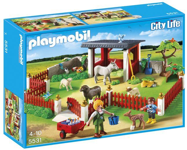 Playmobil City Life 5531 Verzorgingspost met stallen