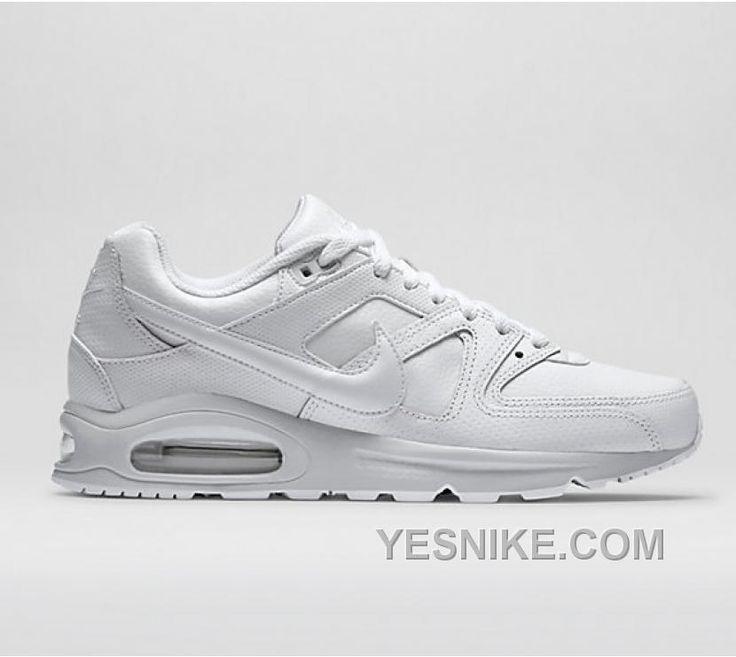 nike air max command all white