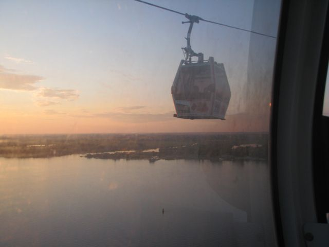 Taking this cable car, the longest in Europe, over the Volga River is a great way to enjoy the natural wonder of the river. Nizhny Novgorod, Russia