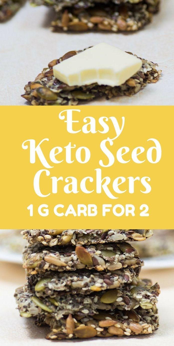 keto seed crackers recipe