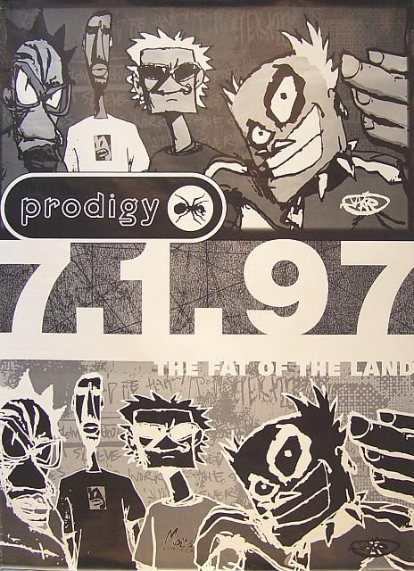 THE PRODIGY - THE FAT OF THE LAND (USA - 1997)