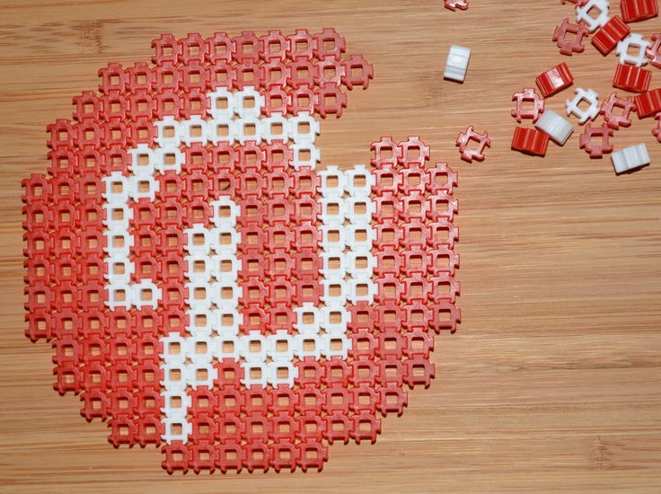 Pinterest made entirely by Simbrix!! Great Fun!! | logo with beads, craft, creation