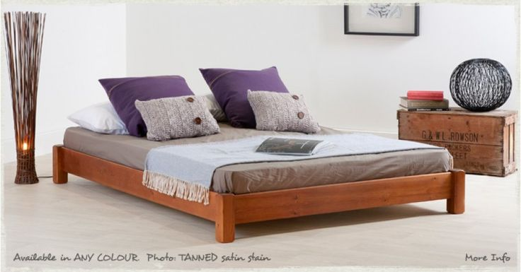 17 best ideas about low platform bed on pinterest low for Low to ground beds