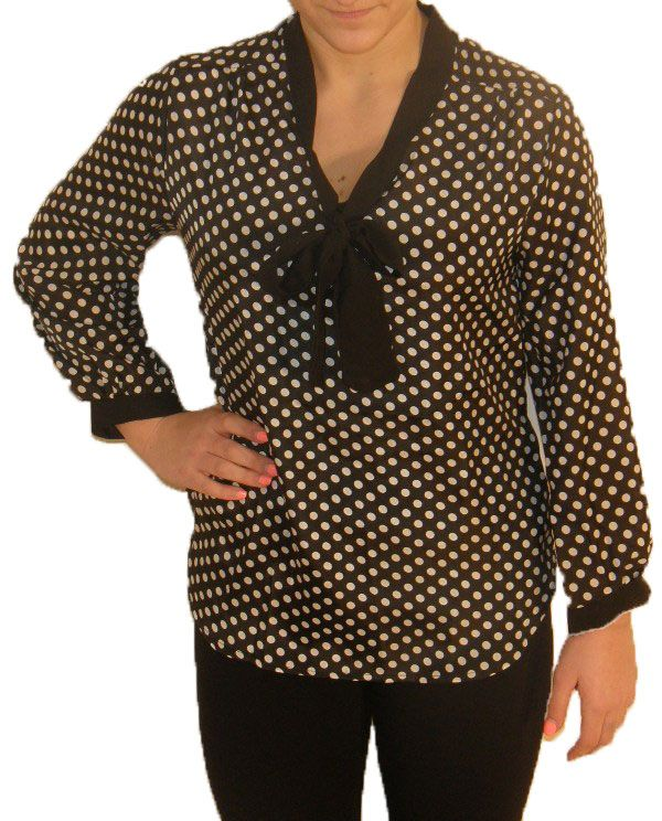 http://www.paperdollboutique.ca/tops-tie-me-to-the-dots-blouse-black.html