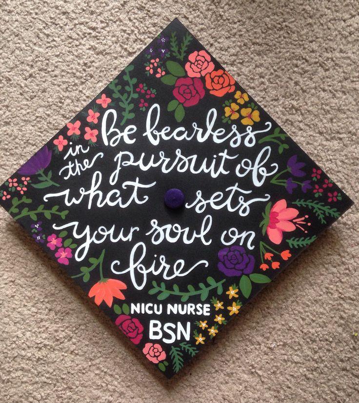 My Graduation Cap Bsn Nicu Nicu Nurse At Your Cervix
