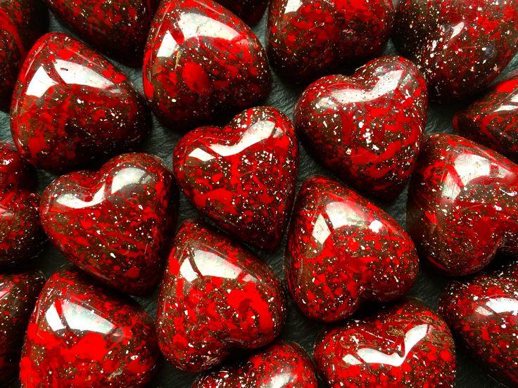 Red Blood Hearts Valentine's www.alicebentleychocolates.com