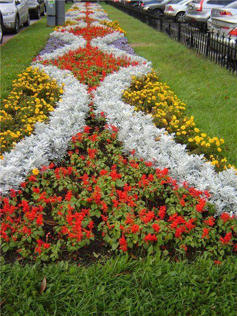 картинки цветочная рабатка приэльбрусских спортивных