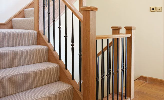 Iron Stair Spindles | Contemporary Design - Wrought Iron Staircases - Staircase Renovations