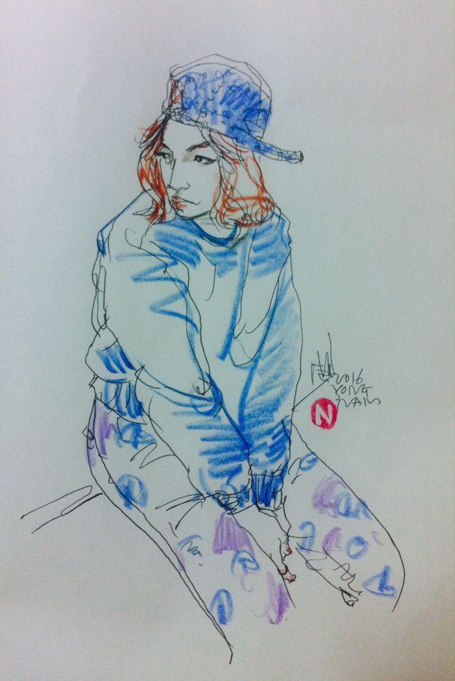 Drawing by yongnam- jeong